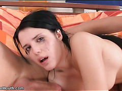 Neat gorgeous hotty oraljobs man and receives screwed by him