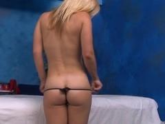 Hawt sexy babe fucks and sucks her massage therapist